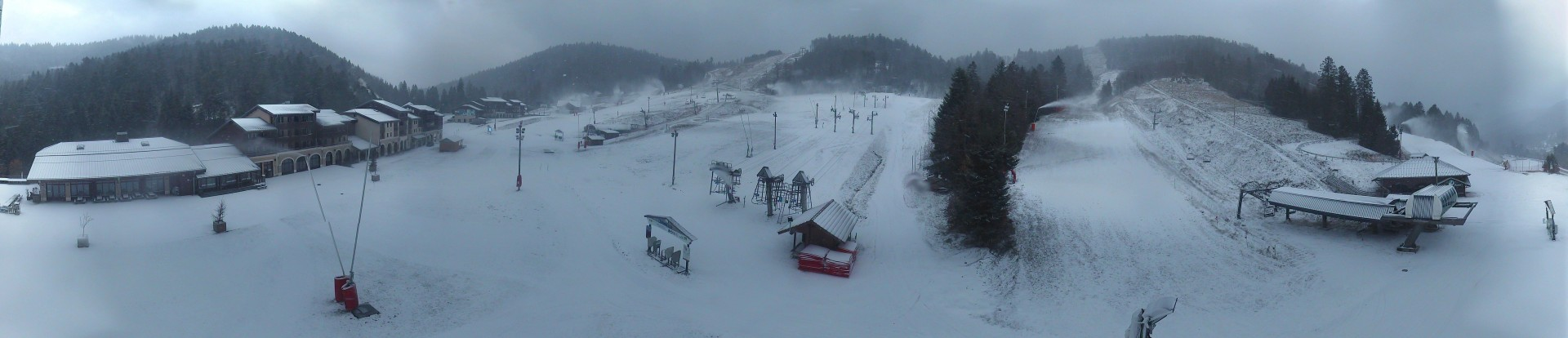 Front de neige - Webcam la Bresse