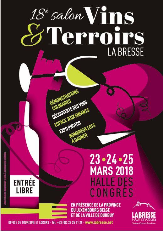 Salon Vins et Découverte des Terroirs La Bresse