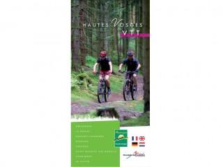 Carte des circuits VTT des Hautes-Vosges