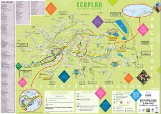 Ecoplan La Bresse - Carte Hautes-Vosges