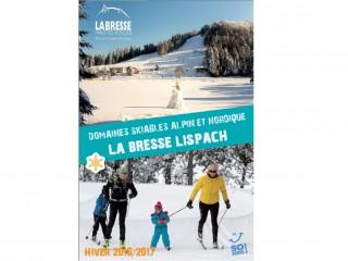La Bresse Lispach: Domaines skiables Alpin et Nordique 2016/2017