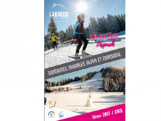 La Bresse Lispach ski resort 2017/2018