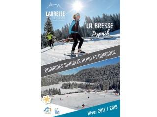 La Bresse Lispach: Domaines skiables Alpin et Nordique 2018/2019