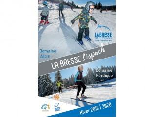 La Bresse Lispach: Skigebiete alpinen und nordischen 2019/2020