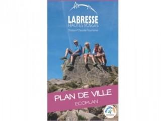 La Bresse City Map