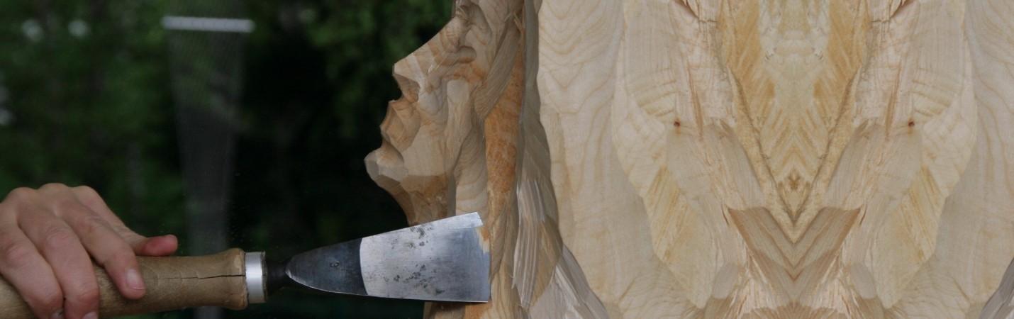 Animations La Bresse Hautes Vosges festival de sculpture