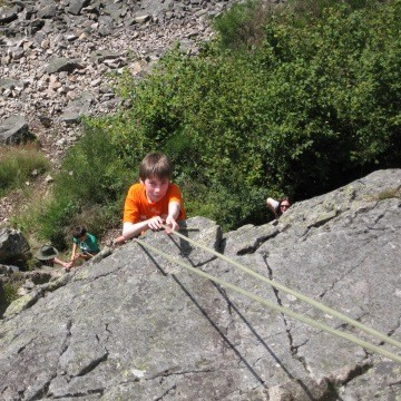 Escalade et grimpe