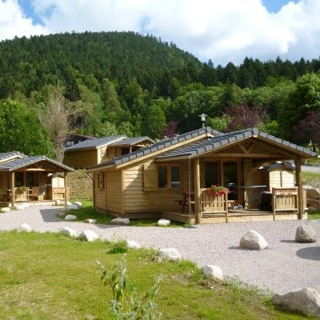 Chalets in Campsite