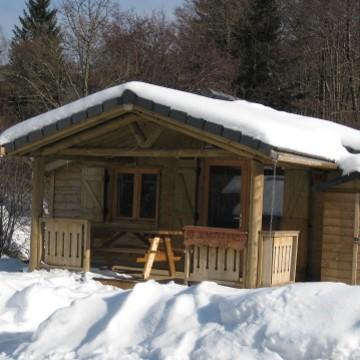 Ferienhäuschen in Campingplätzen