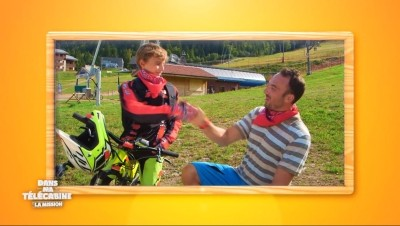 Dans ma telecabine Mission Eté La Bresse Hautes-Vosges Bikepark VTT