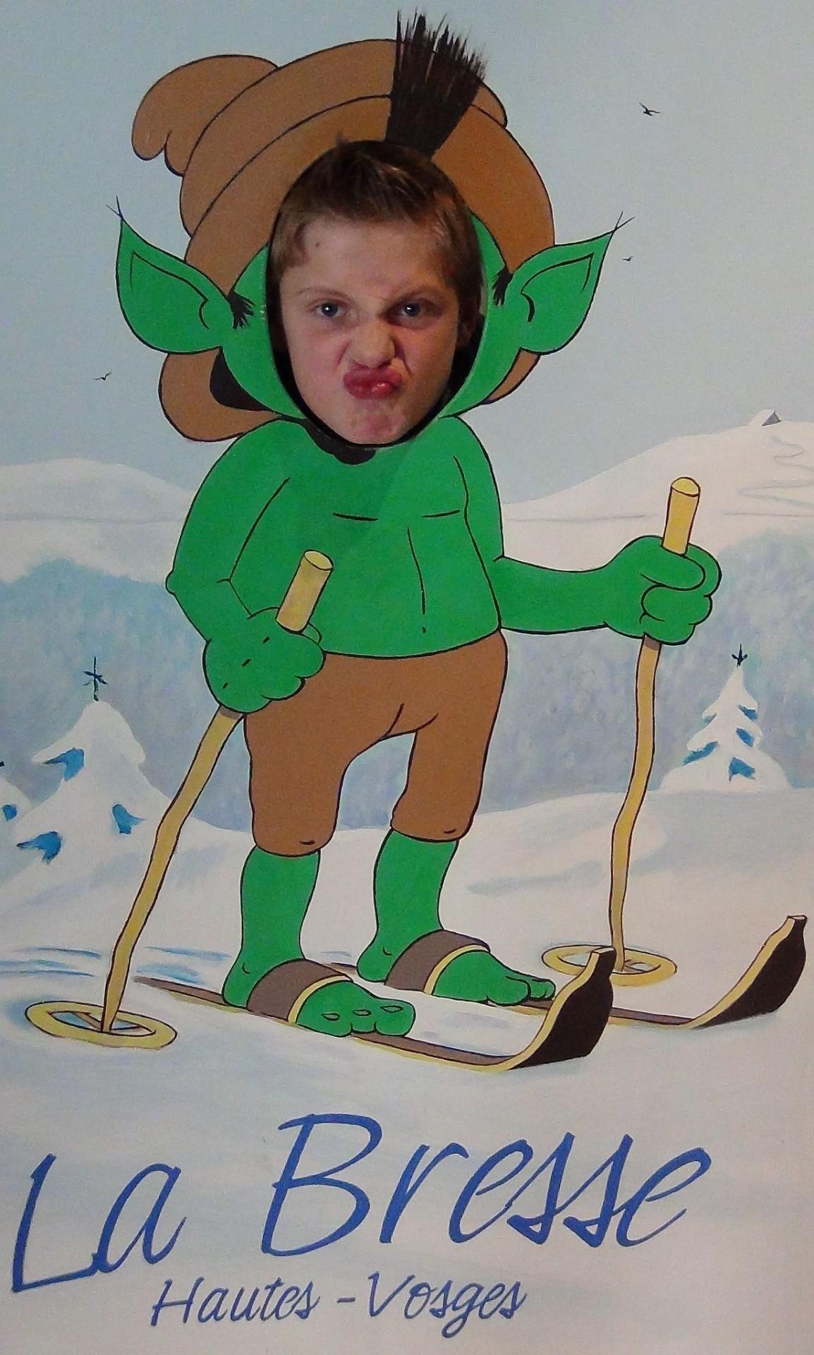 Galerie photo Anice le Sotré au ski