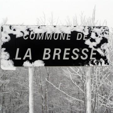 La Bresse Localisation Acces  hiver