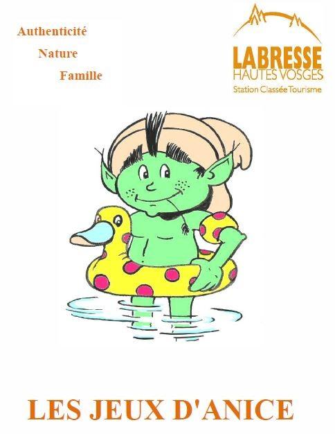 Les jeux d anicé Eté La Bresse Hautes-Vosges Famille Plus