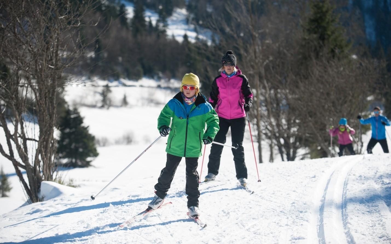 Ski de Fond en Famille La Bresse Hautes Vosges - Domaine Nordique