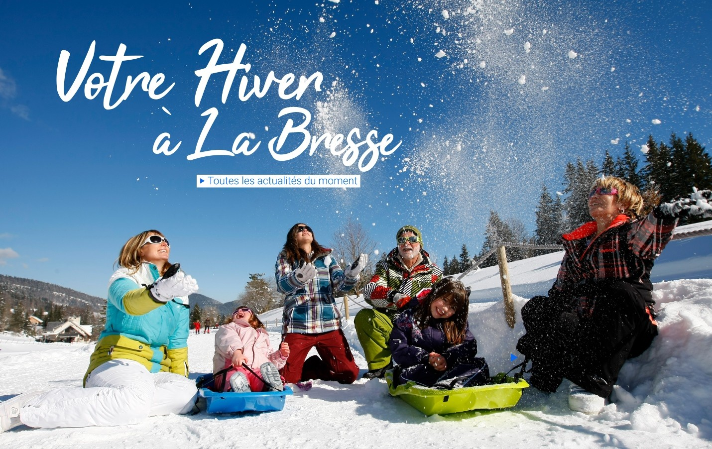 Votre hiver a La Bresse  Hautes-Vosges