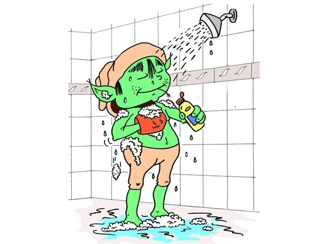 Complexe piscine La Bresse Prendre une douche savonnée avant d'aller dans l'eau