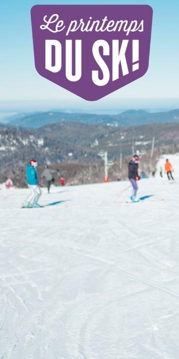 Le printemps du ski à La Bresse Hautes-Vosges - bienvenue aux débutants