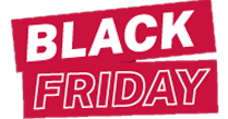 Black friday - Rabatt auf eine einwöchige Reservierung zwischen dem 23. und 30. November 2020