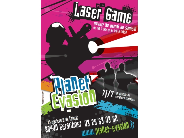 laser game planet 39 evasion gerardmer office du tourisme la bresse vosges 88. Black Bedroom Furniture Sets. Home Design Ideas