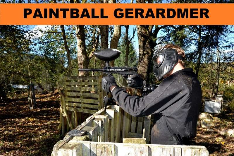 PAINTBALL PLANET'EVASION Gerardmer Hautes Vosges