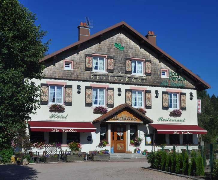 Hotel La Vallée Gerardmer Xonrupt Hautes Vosges