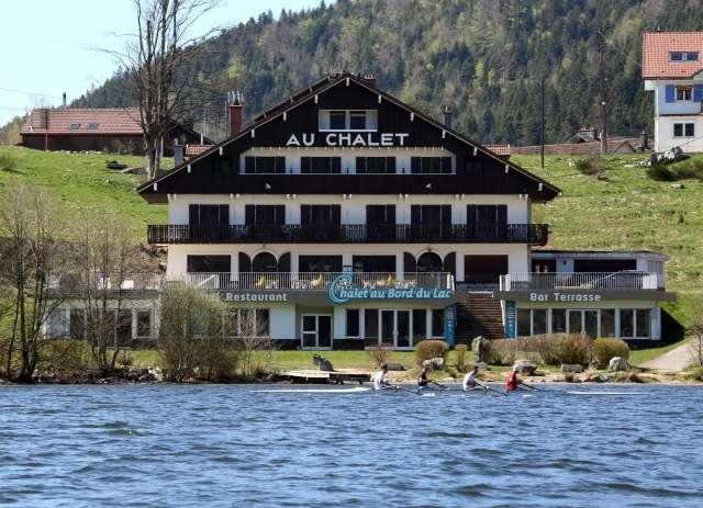 Chalet au bord du Lac Gerardmer Hautes Vosges