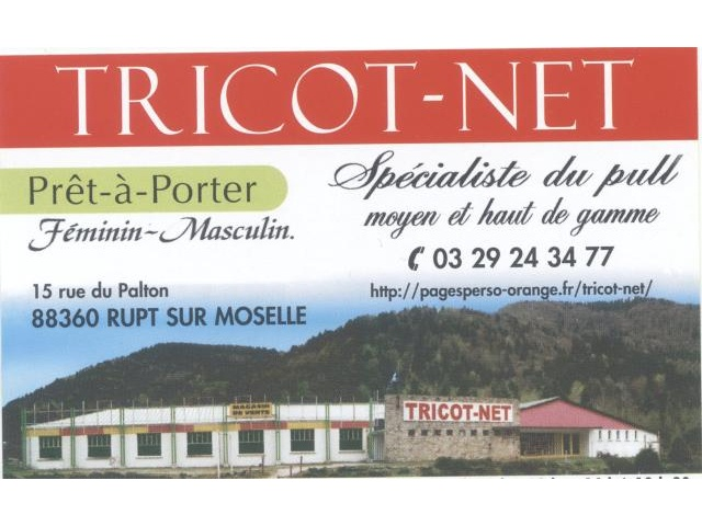En savoir + - TRICOT NET