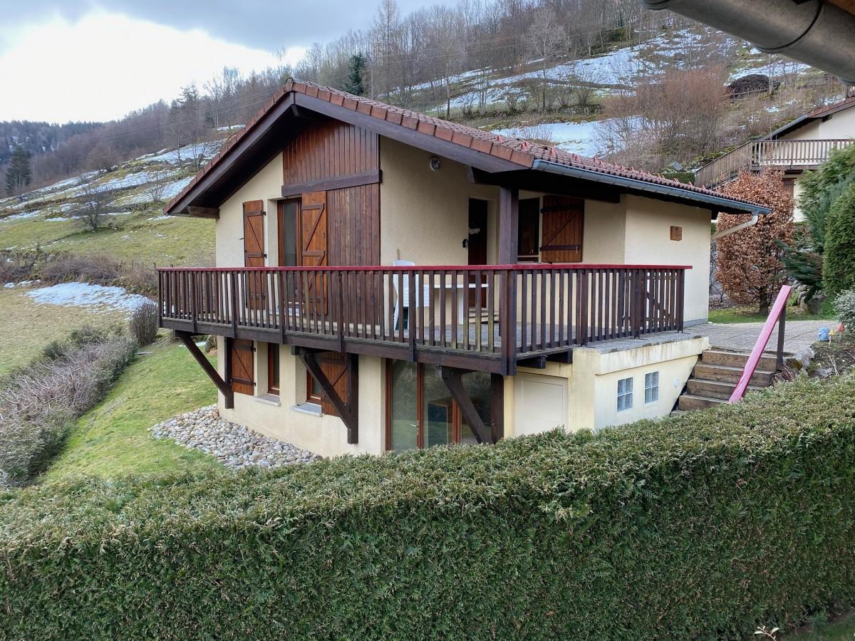 Chalet 6 personnes - 64m² - La Bresse Hautes Vosges - Chalet le chat perché