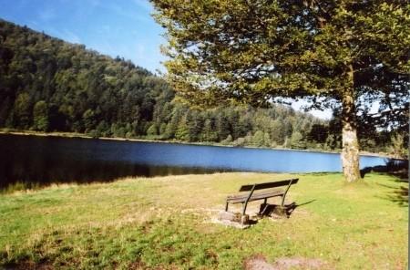 Lac de Blanchemer La Bresse Hautes-Vosges