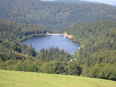 Lac de la lande La Bresse Hautes-Vosges
