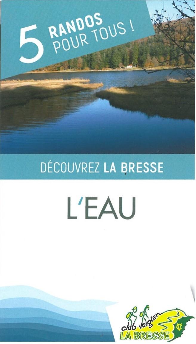 Randonnée Eau La Bresse Vosges