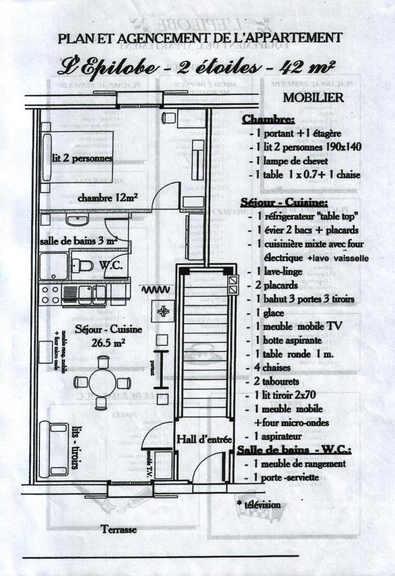 Appartement 2 personnes, Ventron